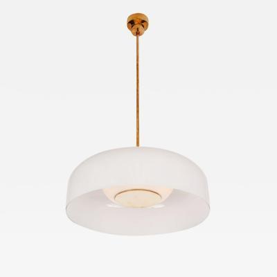 Sergio Mazza Large 1960s Sergio Mazza Pandora Glass Suspension Lamp for Artemide