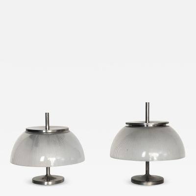 Sergio Mazza Pair of Alfetta table lamps for Artemide