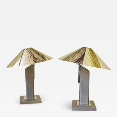 Sergio Orozco Pair of Arquitectura Lamps Designed by Sergio Orozco for Brueton