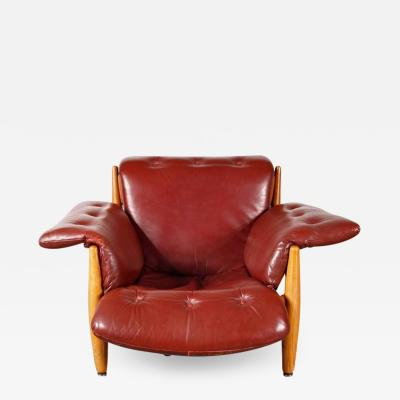 Sergio Rodrigues 1960s Sergio Rodrigues Sheriff Chair for ISA Bergamo Italy