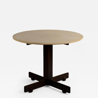 Sergio Rodrigues Jacaranda and Marble Alex Breakfast or Game Table by Sergio Rodrigues