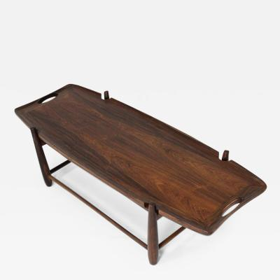 Sergio Rodrigues Mid Century Modern Arimello Center Table by Sergio Rodrigues Brazil 1958