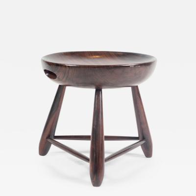 Sergio Rodrigues Mid century modern Mocho stool by Brazilian designer Sergio Rodrigues for OCA