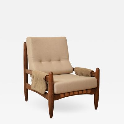 Sergio Rodrigues Midcentury Armchair in the Style of Sergio Rodrigues circa 1970