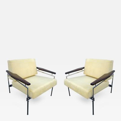 Sergio Rodrigues Pair of 1960s Sergio Rodrigues Brazilian Jacaranda Beto Chairs