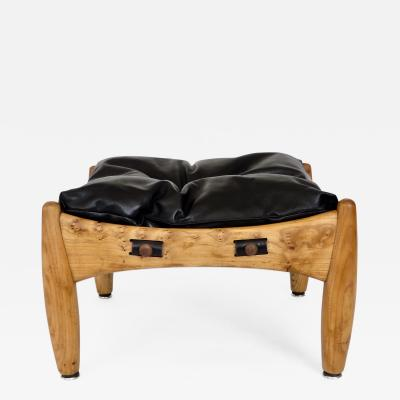 Sergio Rodrigues Sergio Rodrigues Brazilian Design Sherrif Ottoman or Footstool by Isa Bergamo