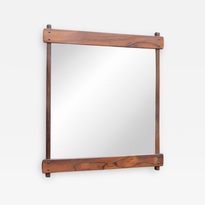 Sergio Rodrigues Sergio Rodrigues Rosewood Wall Mirror