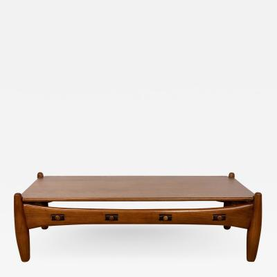Sergio Rodrigues Sergio Rodriguez coffee table Isa Bergamo brand 1960