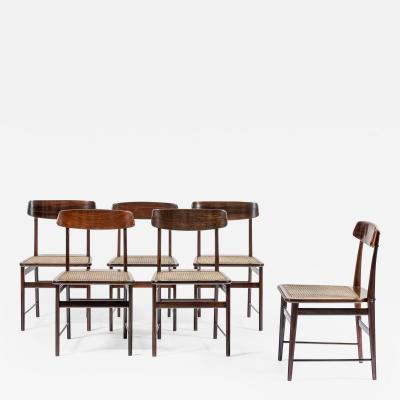 Sergio Rodrigues Set of 10 chairs