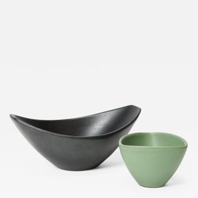 Set of 2 ceramic bowls 50s