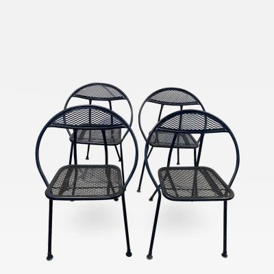 Set of 4 Folding Chairs by Salterini for Rid Jid
