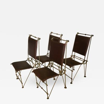 Set of 4 Ilana Goor Chairs