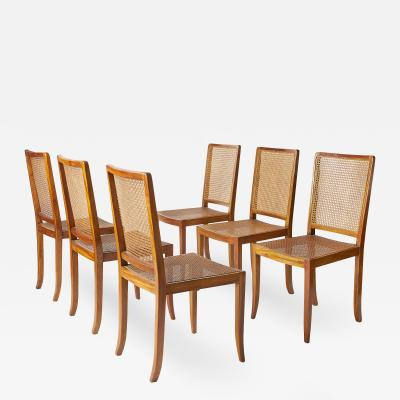 Set of 8 Vintage Danish Dining Chairs