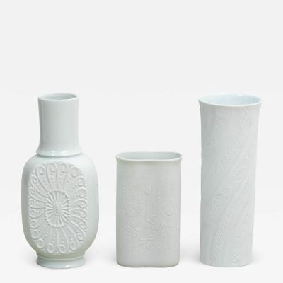 Set of Bavarian Vases