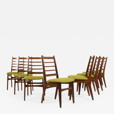 Set of Eight Danish Dining Room Chairs