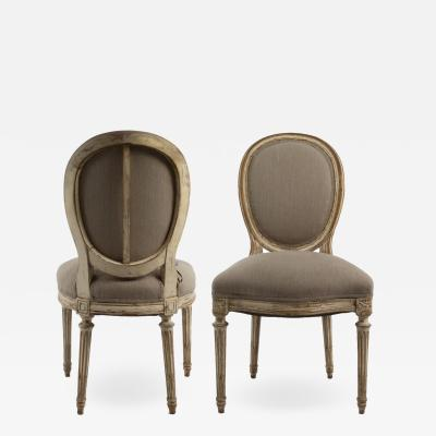 Set of Eight French 19th Century Dining Chairs