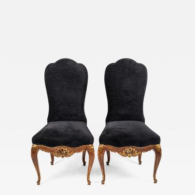 Set of Eight Style Louis XV Chairs