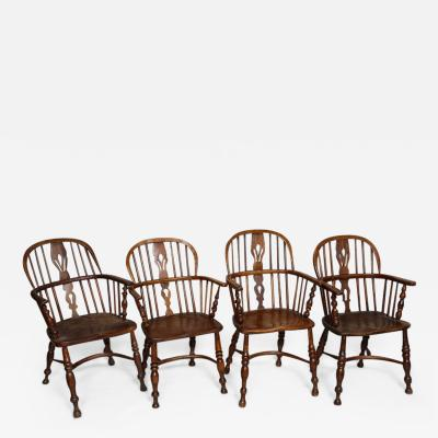 Set of Eight Windsor Chairs