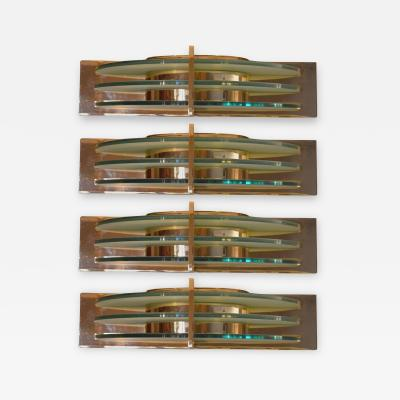 Set of Four Art Deco Sconces