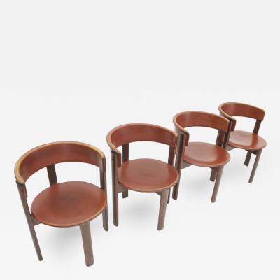 Set of Four Cassina Dining Room Chairs