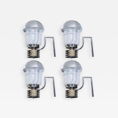 Set of Four Space Age Looking Wall Sconces