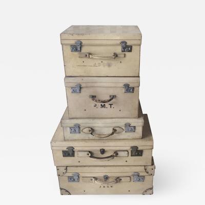 Set of Pigskin Luggage 1920s