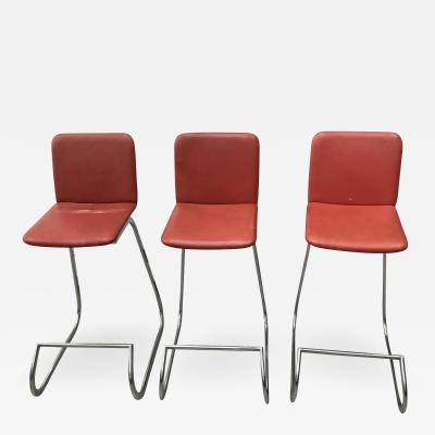 Set of Three Bar Stools
