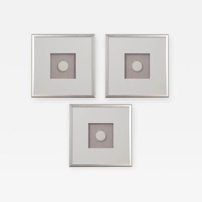 Set of Three Hatcher New Orleans Framed Intaglios
