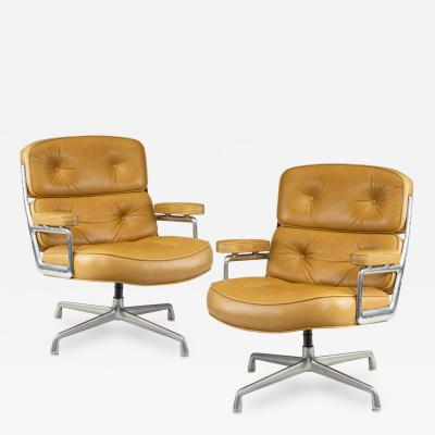 Set of Twelve Swivel Time Life Chairs Designed by Charles Ray Eames