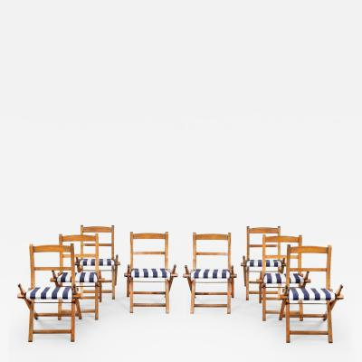Set of ships 1st class folding chairs