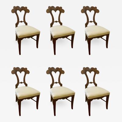 Set of six Biedermeier Chairs Austria 1820 30