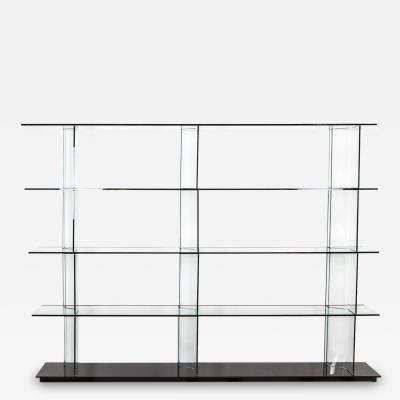 Setsu Shinobu Ito Inori bookcase in glass 1990s
