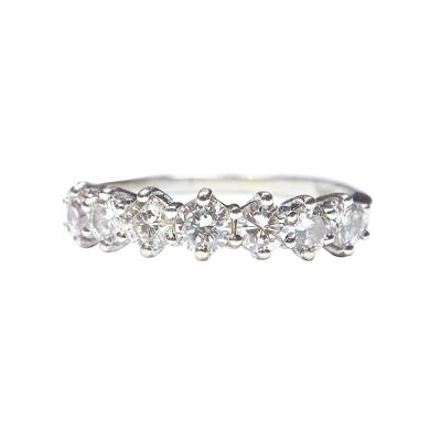 Seven Diamond Gold Ring