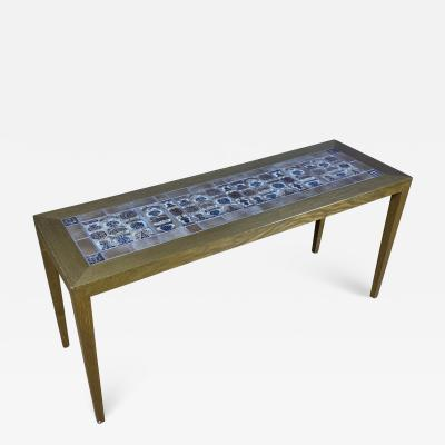 Severin Hansen 1960s Severin Hansen Jr Narrow Coffee Table for Haslev M belfabrik