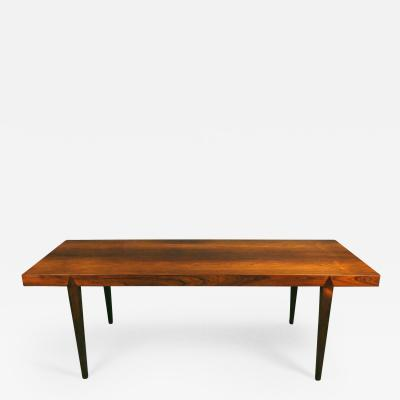 Severin Hansen A Danish Rosewood Coffee Table Designed by Severin Hansen for Haslev