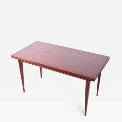 Severin Hansen Rosewood Coffee Table by Severin Hansen for Haslev M belsnedkeri 1960s