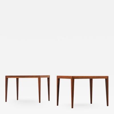 Severin Hansen Side Tables Produced by Haslev M belsnedkeri