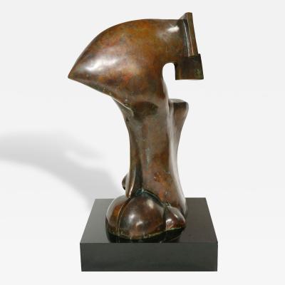 Seymour Rosenwasser Bronze Sculpture by Sy Rosenwasser