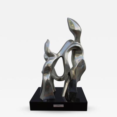 Seymour W Meyer Seymour Meyer Bronze Sculpture