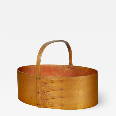 Shaker Bentwood Fixed Handle Carrier