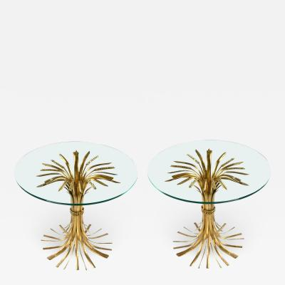 Sheaf Of Wheat Side Tables