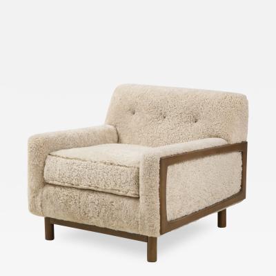 Shearling Club Chair