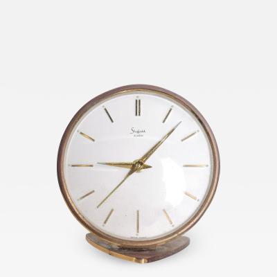 Sheffield West Germany Table Clock Mid Century Modern