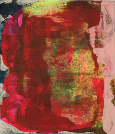 Sheila White Untitled Painting on Canvas