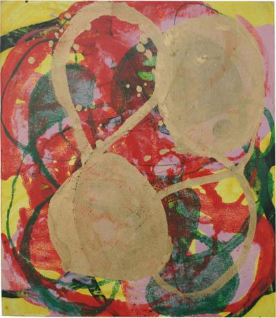 Sheila White YEN Oil on Canvas