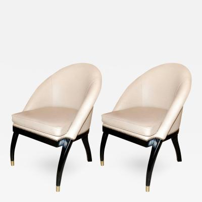 Shelby Williams Pair of Side Chairs by Shelby Williams