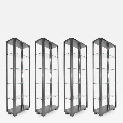 Shelf Units with Glass Shelves