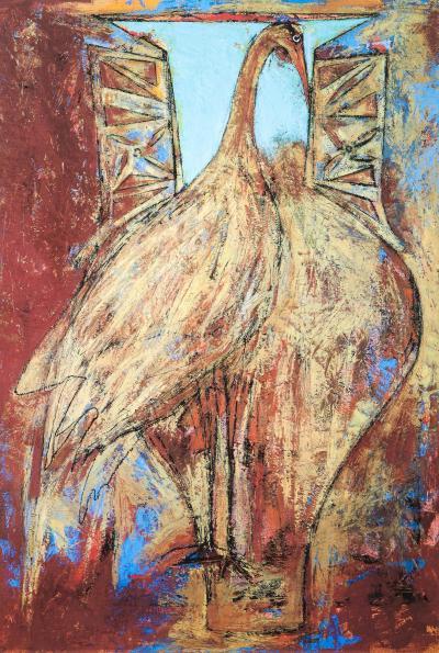 Sherri Hollaender Freedom and Entrapment Series Bird