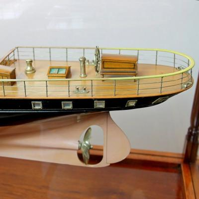 Shipbuilders model of the 2nd Marquess Conynghams Royal Yacht