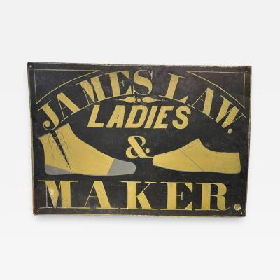 Shoe Makers Sign